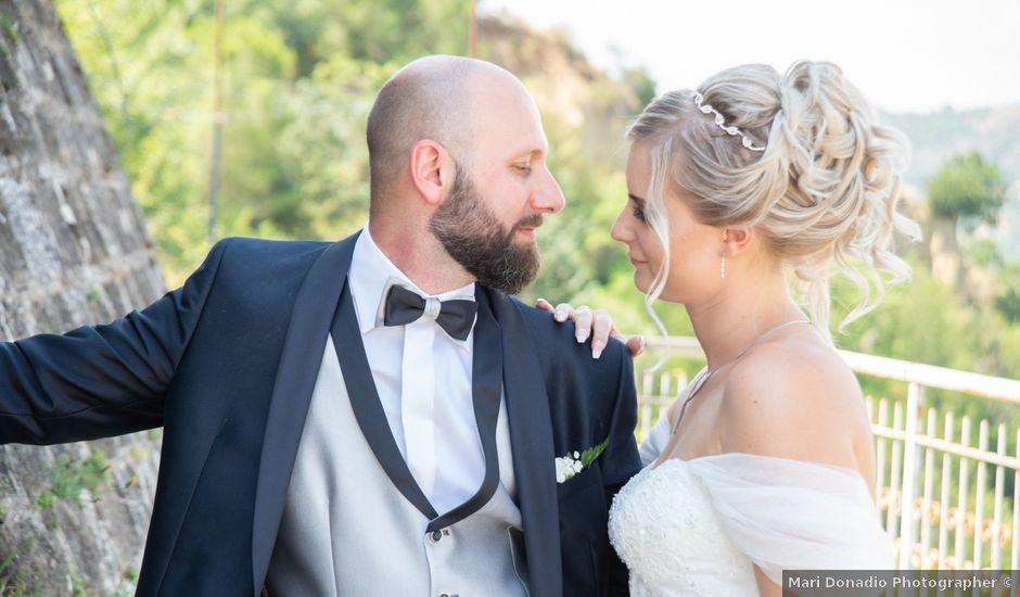 Il matrimonio di Claudio e Ellen a San Giorgio Lucano, Matera