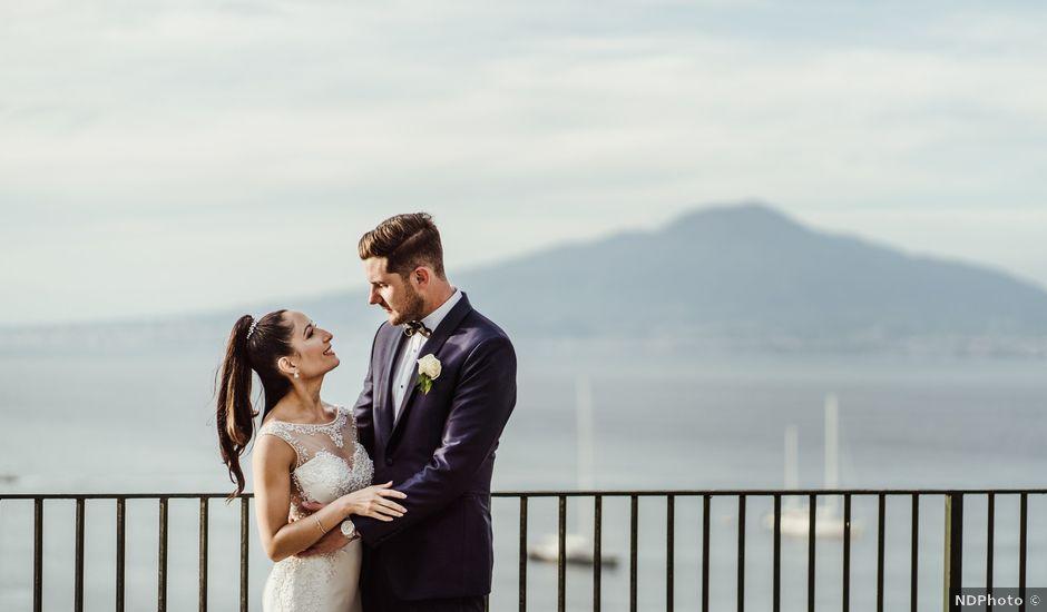 Il matrimonio di Michael e Anna a Sorrento, Napoli