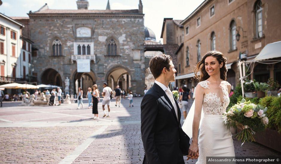 Il matrimonio di Tommaso e Michelle a Bergamo, Bergamo