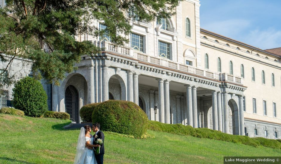 Il matrimonio di Elia e Elena a Cislago, Varese