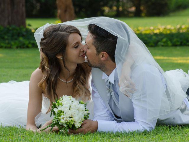 Le nozze di Alessandra e Jonathan