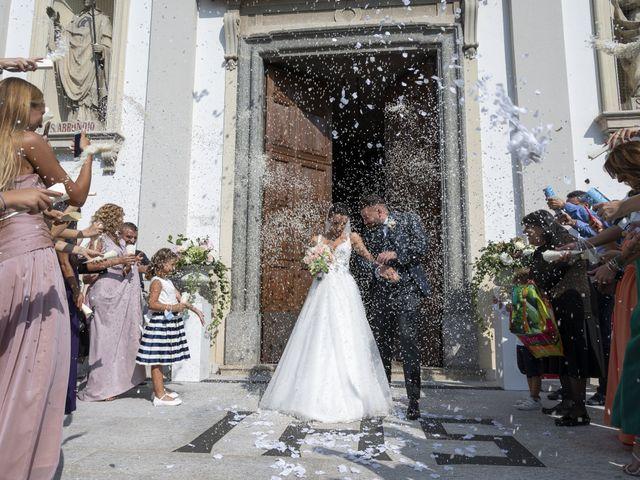 Il matrimonio di Roberto e Greta a Cermenate, Como 33