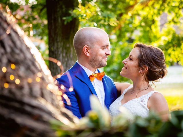 Le nozze di Vicky e Luca