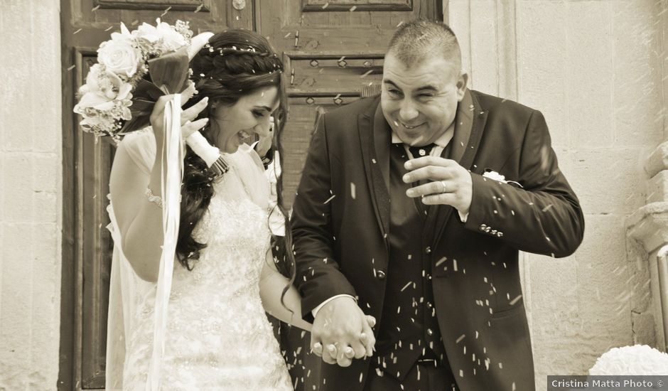 Il matrimonio di Martino e Alessandra a Maracalagonis, Cagliari
