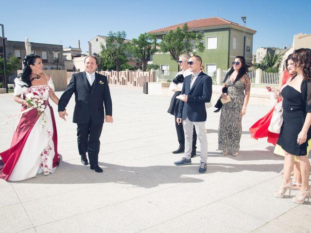Il matrimonio di Gianluigi e Maria Rita a Quartu Sant'Elena, Cagliari 20