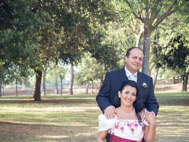 le nozze di Maria Rita e Gianluigi