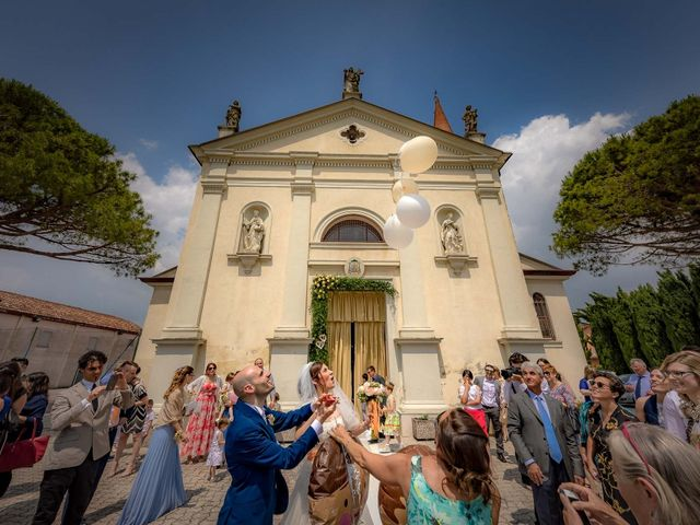 Il matrimonio di Matteo e Federica a Gorgo al Monticano, Treviso 14
