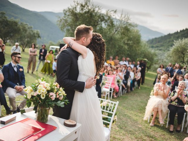 Il matrimonio di Simone e Selene a Prato, Prato 37