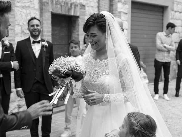 Il matrimonio di Valerio e Giulia a Arcevia, Ancona 55
