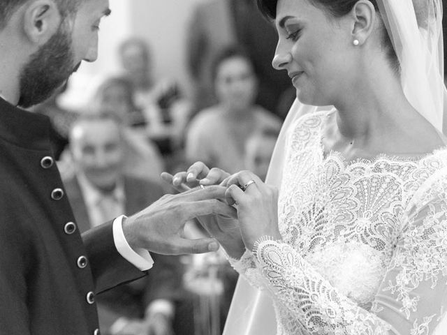 Il matrimonio di Valerio e Giulia a Arcevia, Ancona 63