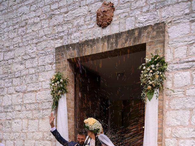 Il matrimonio di Valerio e Giulia a Arcevia, Ancona 69