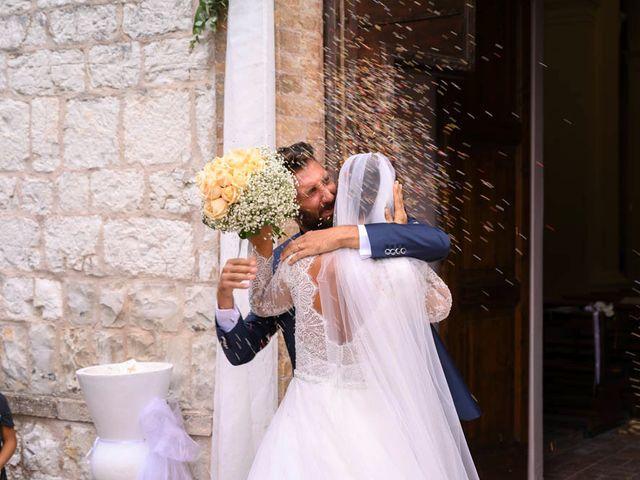 Il matrimonio di Valerio e Giulia a Arcevia, Ancona 70