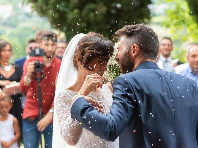Il matrimonio di Valerio e Giulia a Arcevia, Ancona 72