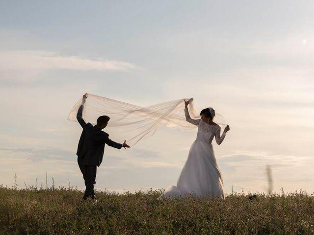 Il matrimonio di Valerio e Giulia a Arcevia, Ancona 77