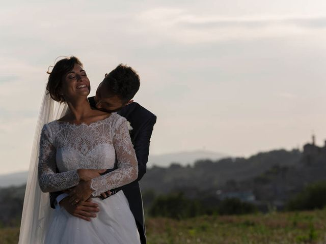 Il matrimonio di Valerio e Giulia a Arcevia, Ancona 79