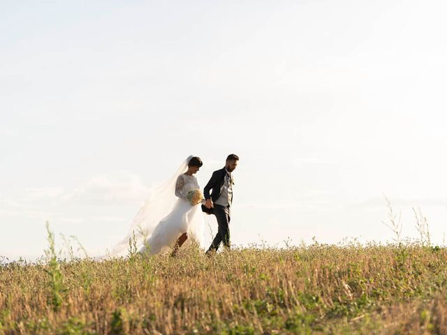 Il matrimonio di Valerio e Giulia a Arcevia, Ancona 83