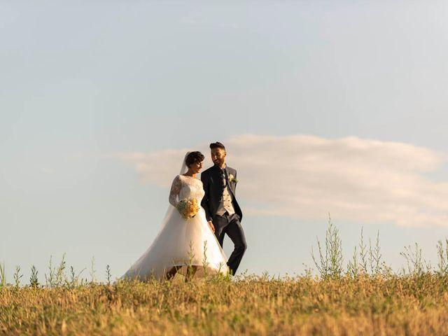 Il matrimonio di Valerio e Giulia a Arcevia, Ancona 84