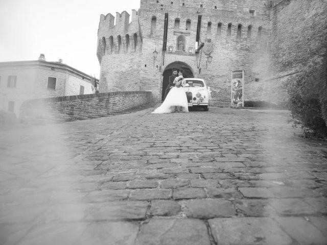 Il matrimonio di Valerio e Giulia a Arcevia, Ancona 2