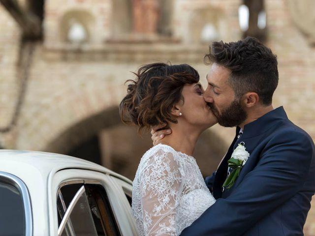 Il matrimonio di Valerio e Giulia a Arcevia, Ancona 90