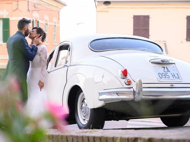Il matrimonio di Valerio e Giulia a Arcevia, Ancona 92