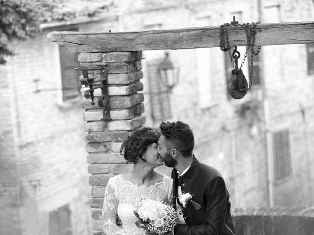 Il matrimonio di Valerio e Giulia a Arcevia, Ancona 93