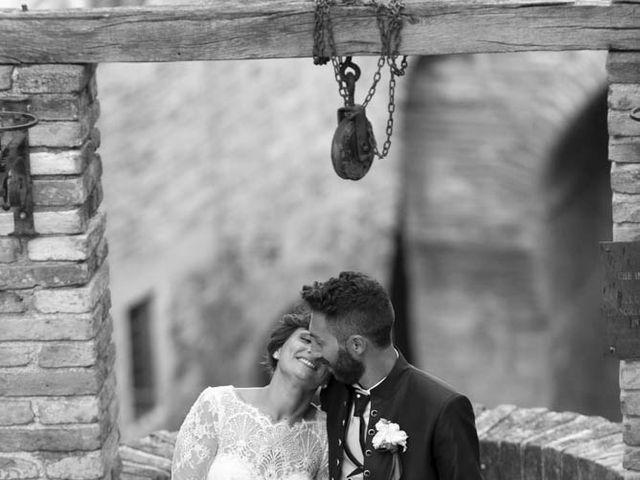 Il matrimonio di Valerio e Giulia a Arcevia, Ancona 95