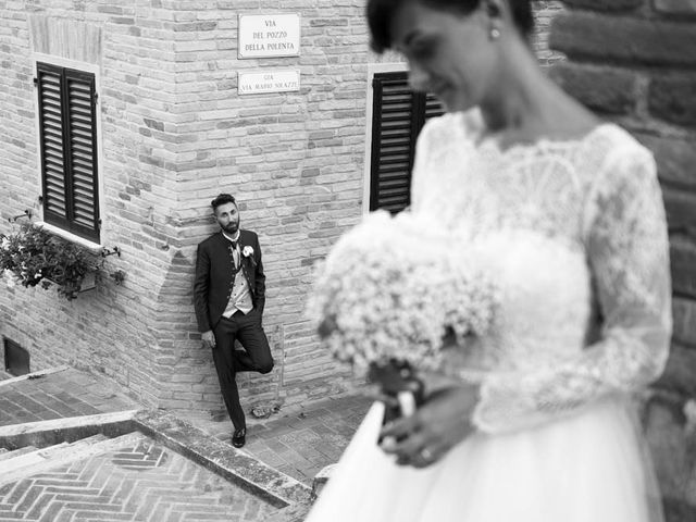 Il matrimonio di Valerio e Giulia a Arcevia, Ancona 97