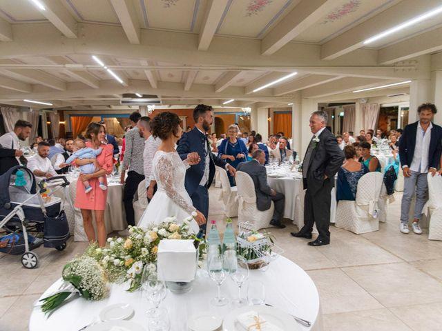Il matrimonio di Valerio e Giulia a Arcevia, Ancona 122