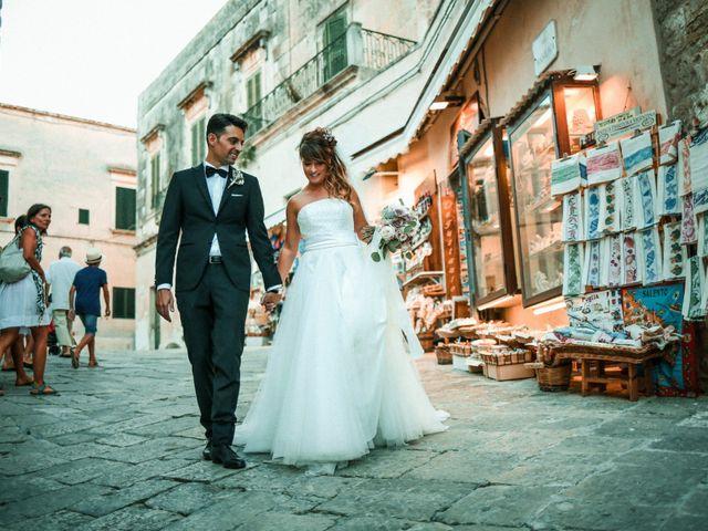 Il matrimonio di Domenico e Valentina a Otranto, Lecce 17