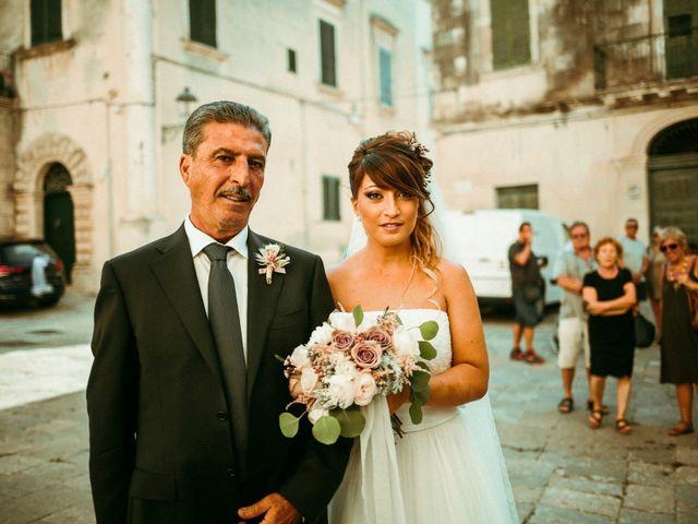 Il matrimonio di Domenico e Valentina a Otranto, Lecce 27