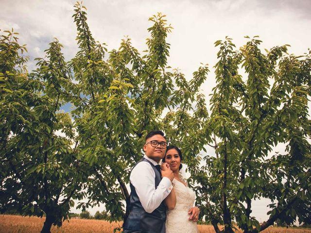 le nozze di Maricon e Alexis