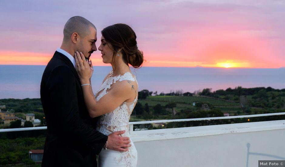 Il matrimonio di Milena e Giuseppe a Afragola, Napoli
