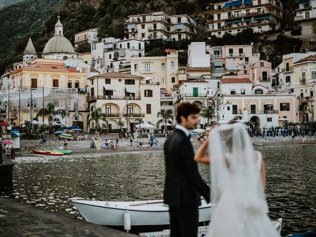 Il matrimonio di Gian Luca e Nicoletta a Vietri sul Mare, Salerno 26
