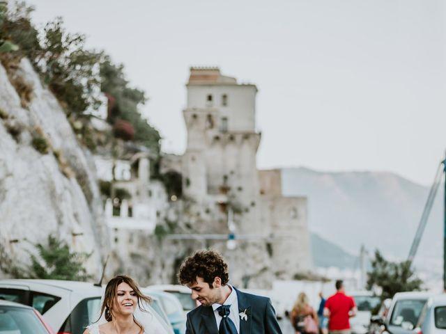Il matrimonio di Gian Luca e Nicoletta a Vietri sul Mare, Salerno 30
