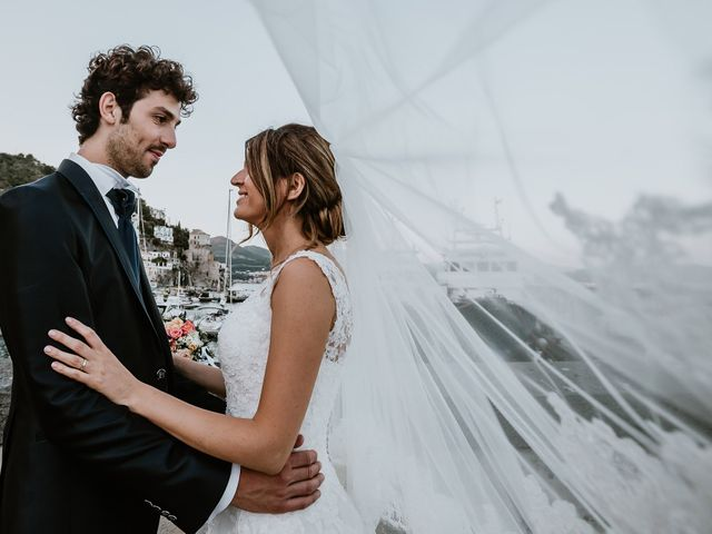 Il matrimonio di Gian Luca e Nicoletta a Vietri sul Mare, Salerno 31