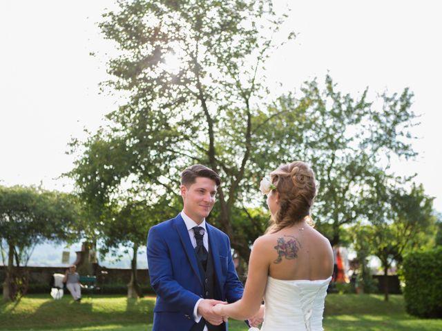 le nozze di Gina e Fabio