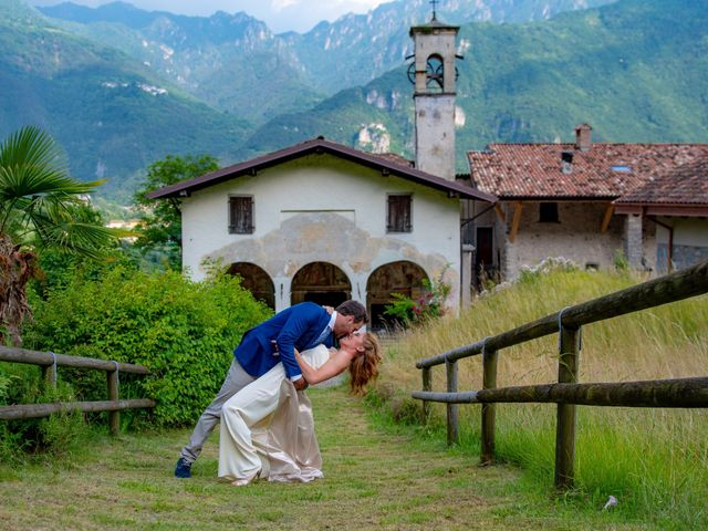 le nozze di Linda e Pablo