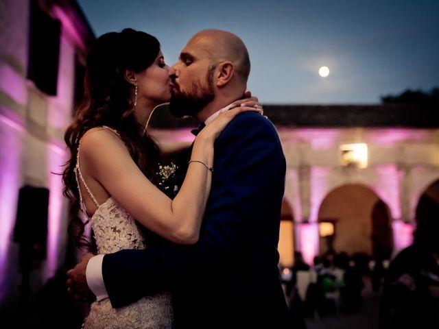 le nozze di Veruska e Massimiliano