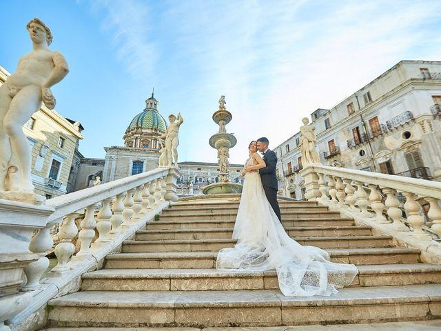Il matrimonio di Carlo e Selene a Palermo, Palermo 56