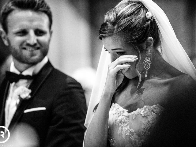 Il matrimonio di Marco e Giluia a Abbadia Lariana, Lecco 17