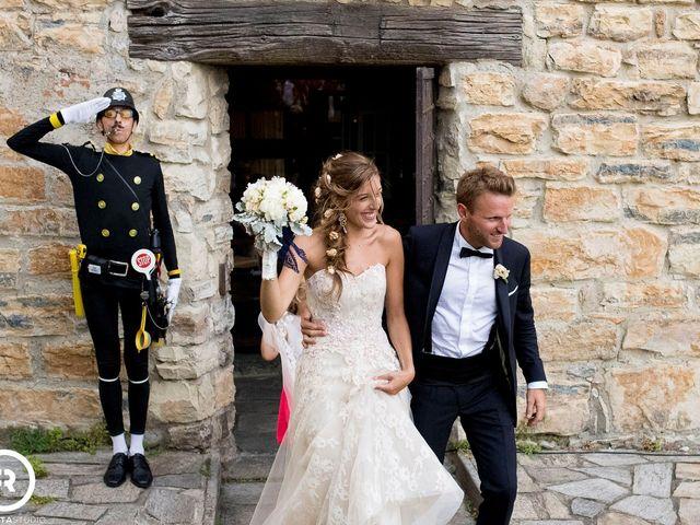 Il matrimonio di Marco e Giluia a Abbadia Lariana, Lecco 32