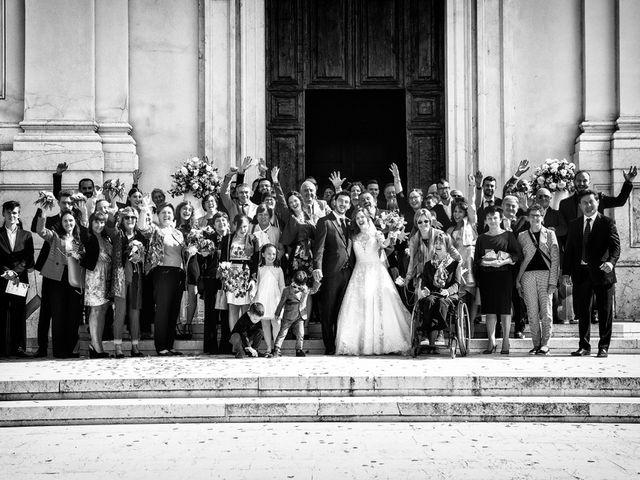 Il matrimonio di Roberto e Valentina a Leno, Brescia 49