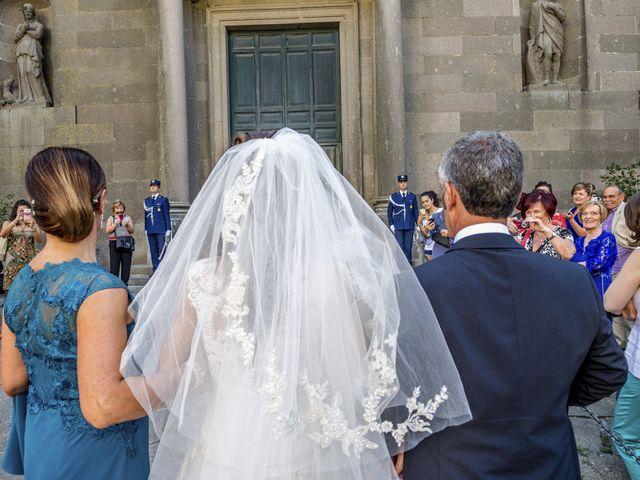 Il matrimonio di Filipppo e Fabiana a Montefiascone, Viterbo 35