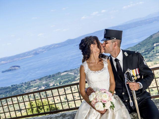Il matrimonio di Filipppo e Fabiana a Montefiascone, Viterbo 57