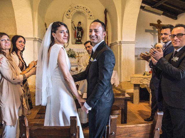 le nozze di Carla e Corrado