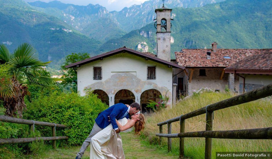 Il matrimonio di Pablo e Linda a Bagolino, Brescia