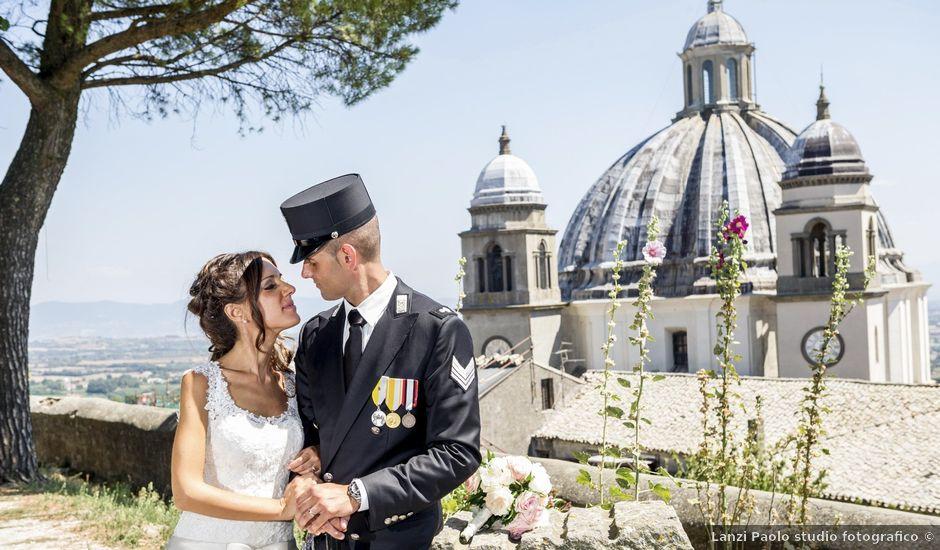 Il matrimonio di Filipppo e Fabiana a Montefiascone, Viterbo