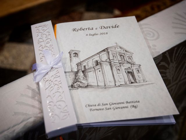 Il matrimonio di Davide e Roberta a Fornovo San Giovanni, Bergamo 25