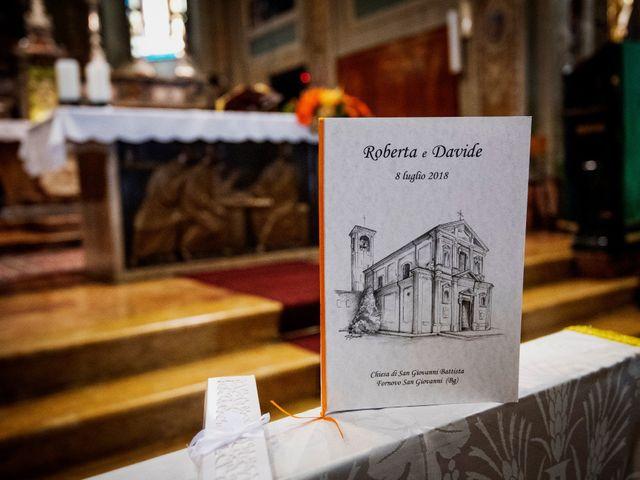 Il matrimonio di Davide e Roberta a Fornovo San Giovanni, Bergamo 26