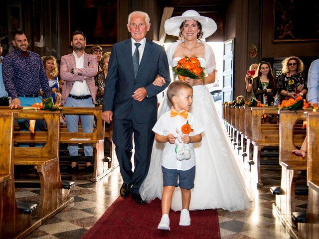 Il matrimonio di Davide e Roberta a Fornovo San Giovanni, Bergamo 33